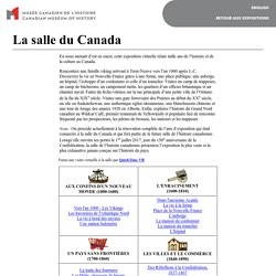 La salle du Canada (phase 1) - Histoire du Canada
