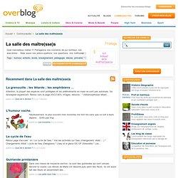 La salle des maître(sse)s sur OverBlog