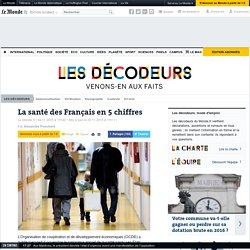La santé des Français en 5 chiffres