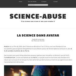La science dans Avatar - Science-Abuse