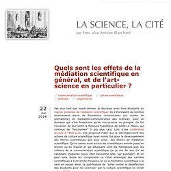 La science, la cité