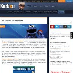La sécurité sur Facebook