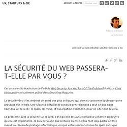 La sécurité du web passera-t-elle par vous ? : Ergonomie web, Ru