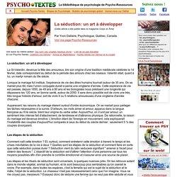 La séduction: par un psychologuee
