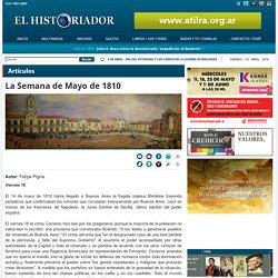 La Semana de Mayo de 1810