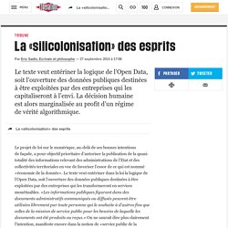 La «silicolonisation» desesprits