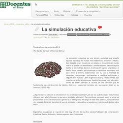 La simulación educativa
