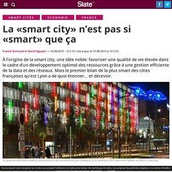 La «smart city» n'est pas si «smart» que ça
