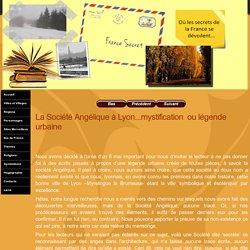 La Société Angélique à Lyon