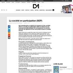 La société en participation (SEP)