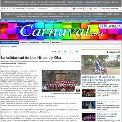 La solidaridad de Los Nietos de Kika