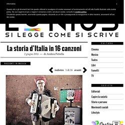 La storia d'Italia in 16 canzoni