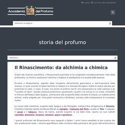 La storia del profumo - Accademia del Profumo