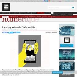 La story, reine de l'info mobile