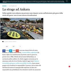 La strage ad Ankara