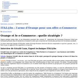 La stratégie e-Commerce d'Orange