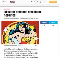 La super absence des super-héroïnes