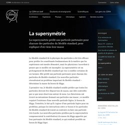 La supersymétrie