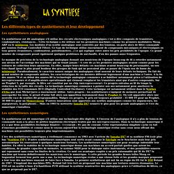 La synthèse.url