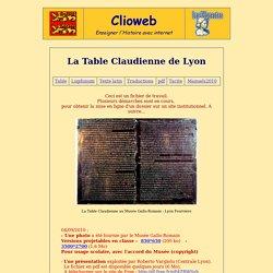 La Table Claudienne