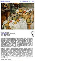 La table de cuisine de Paul Cézanne