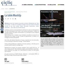 La table MashUp