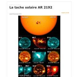La tache solaire AR 2192
