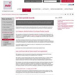 La taxe poids lourds - FNTR