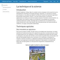 La technique et la science