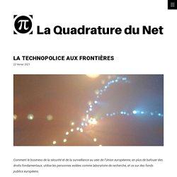 La technopolice aux frontières