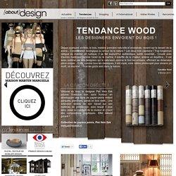 La tendance bois en déco et en design