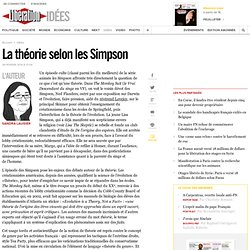 La théorie selon les Simpson