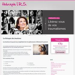 Article/ IMO: La thérapie des émotions