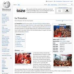 La Tomatina - Wikipedia