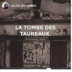 La tombe des Taureaux. - Au Fil du Temps