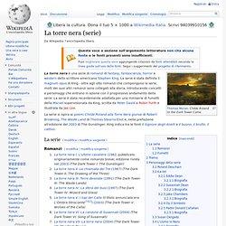 La torre nera (serie) - Wikipedia - Cyberfox