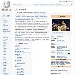 LA TRAVIATA / Wikipédia