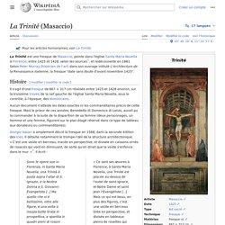 La Trinité (Masaccio)