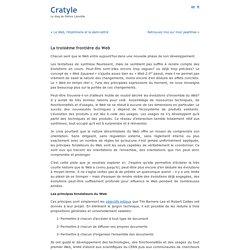 La troisième frontière du Web « Cratyle.net