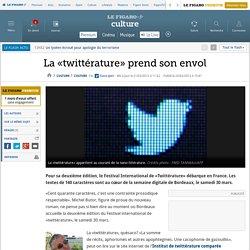 Culture : La «twittérature» prend son envol
