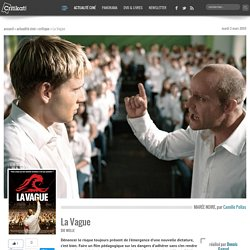 La Vague, un film de Dennis Gansel