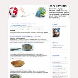 La vaisselle biodégradable