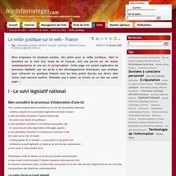 La veille juridique sur le web - France