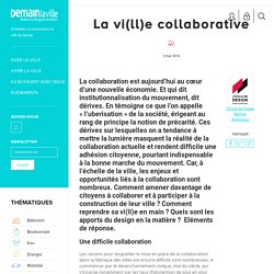 La vi(ll)e collaborative