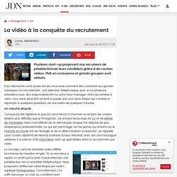 La vidéo à la conquête du recrutement