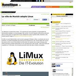 La ville de Munich adopte Linux