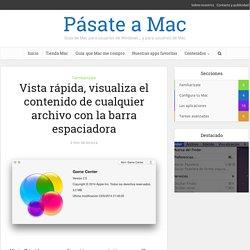 La Vista Rápida en Mac OS X