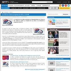La VOD en France progresse de 40% à 135 M€