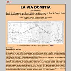 La voie Domitienne (via domitia)