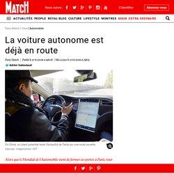 La voiture autonome est déjà en route